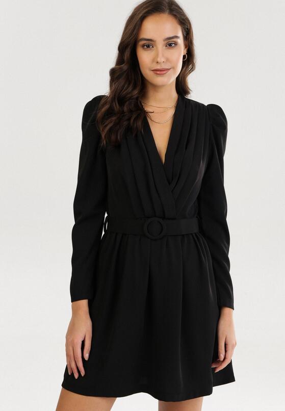 Czarna Sukienka Kahlisise