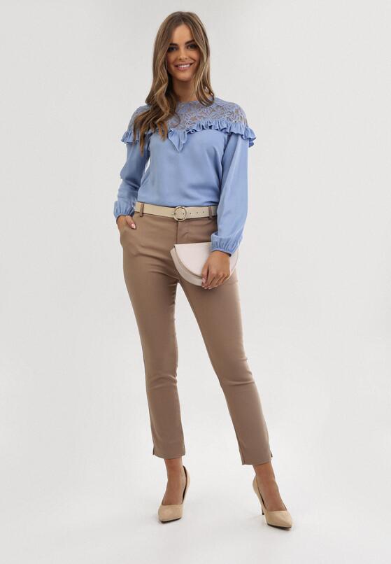 Niebieska Bluzka Narina