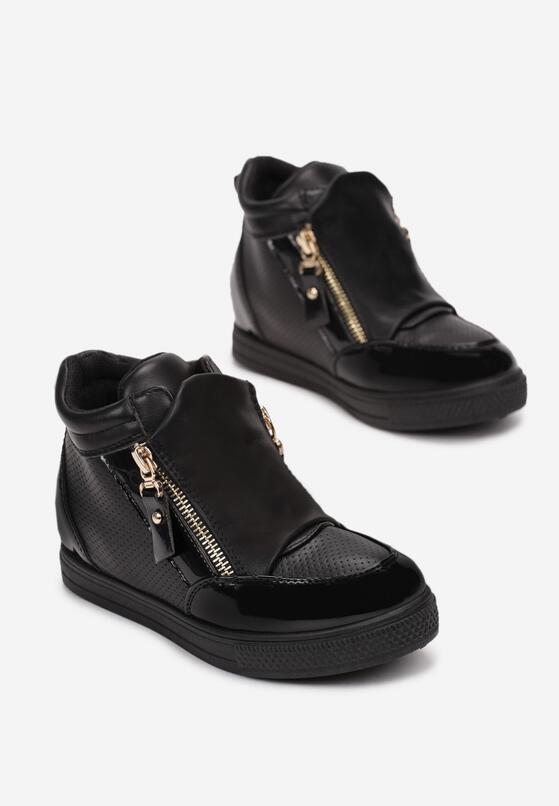 Czarne Buty Sportowe Larileora