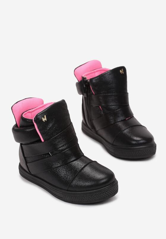 Czarne Buty Sportowe Pereicea