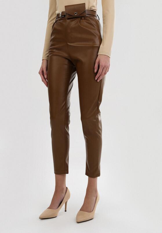 Brązowe Spodnie Orryne