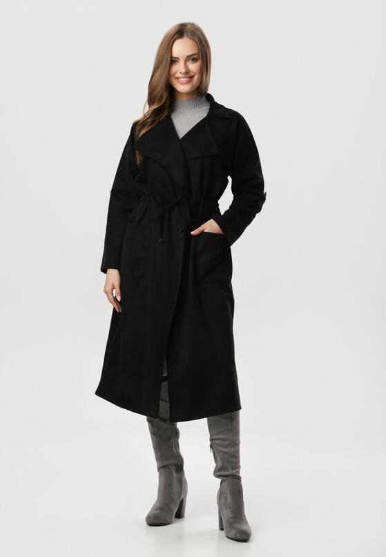Czarny Płaszcz Verey