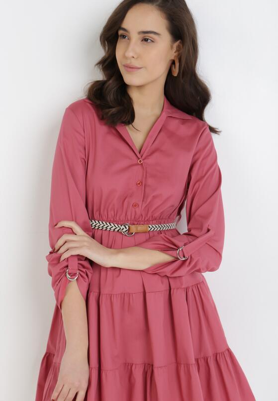 Różowa Sukienka Fogmane
