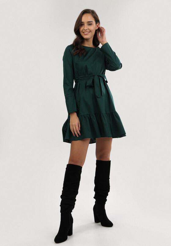 Zielona Sukienka Bluescar