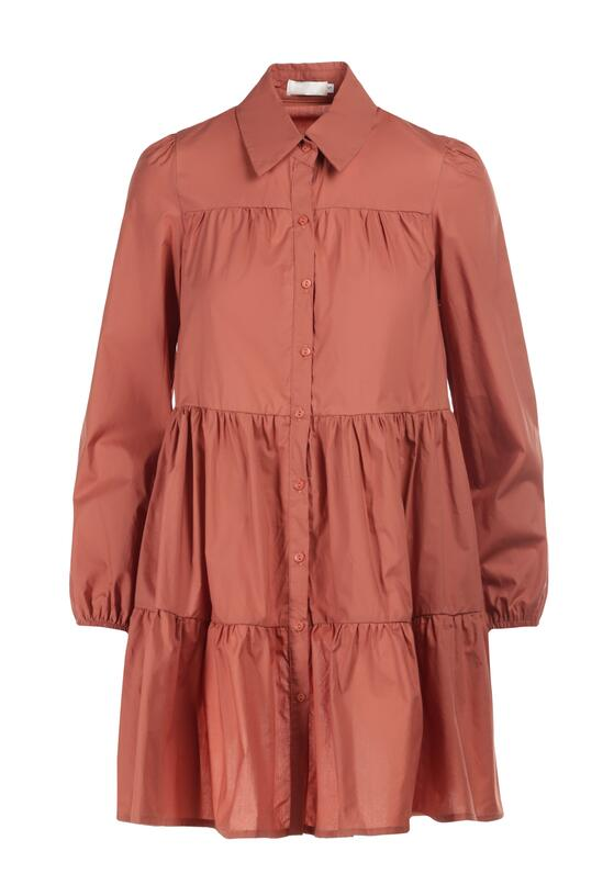Łososiowa Sukienka Hellgem