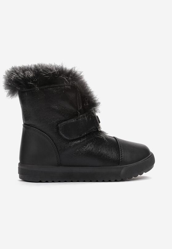 Czarne Śniegowce Smarteyes