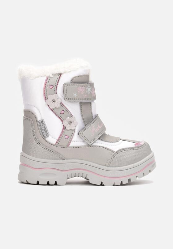 Srebrne Śniegowce Frozenvalor