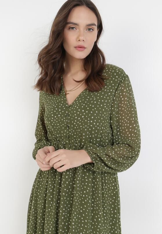 Zielona Sukienka Truthgust