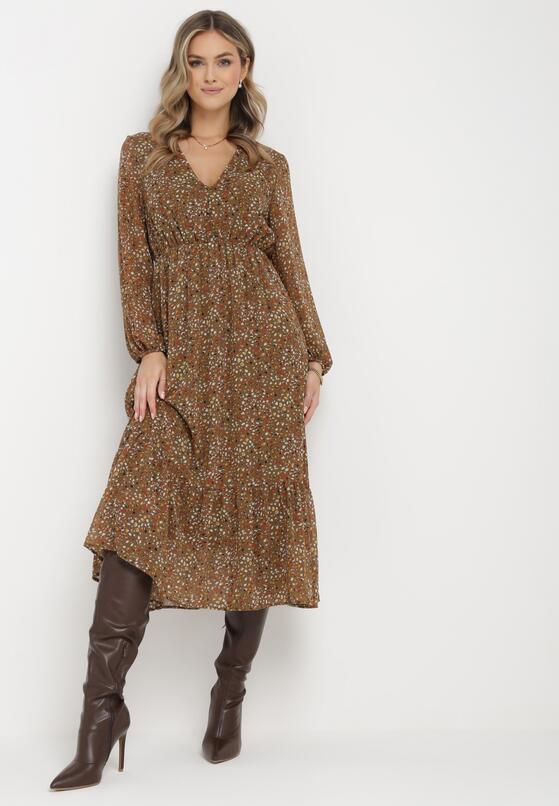 Khaki Sukienka Fullshout