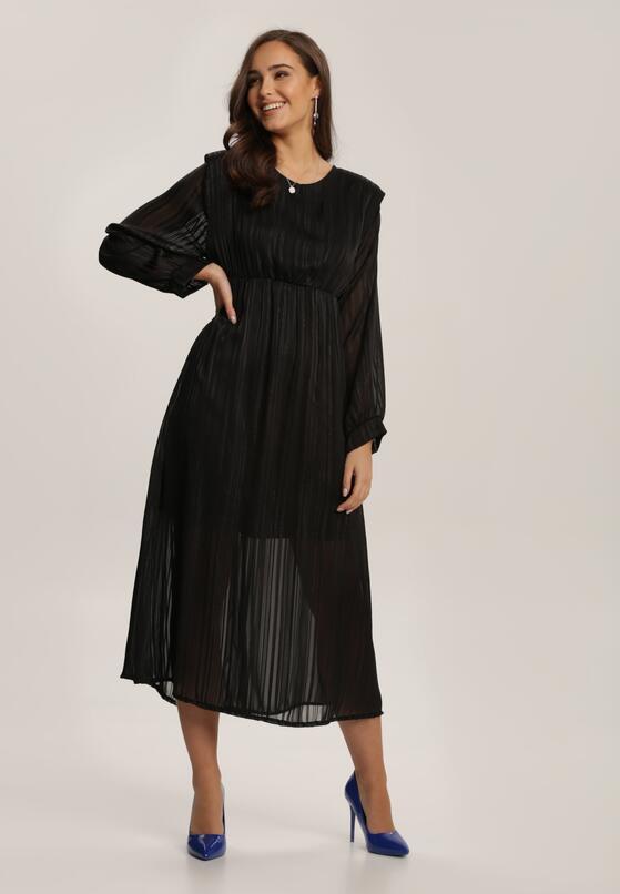 Czarna Sukienka Dimpleglade