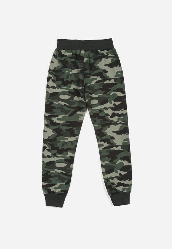Zielone Spodnie Chauvessac