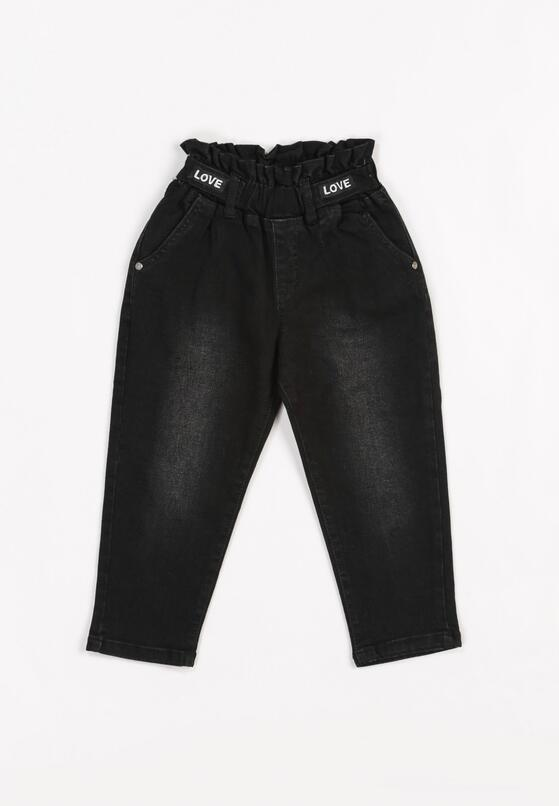 Czarne Spodnie Mossblossom