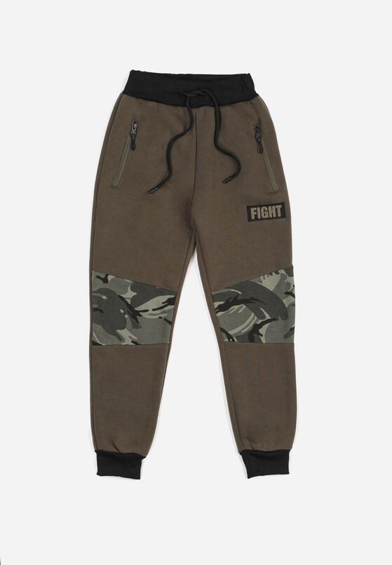 Ciemnozielone Spodnie Bonnethier