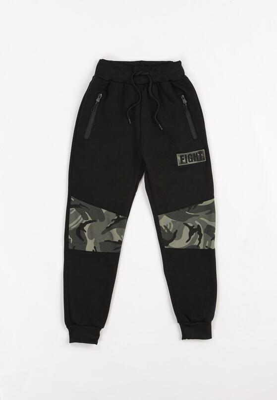Czarne Spodnie Bonnethier