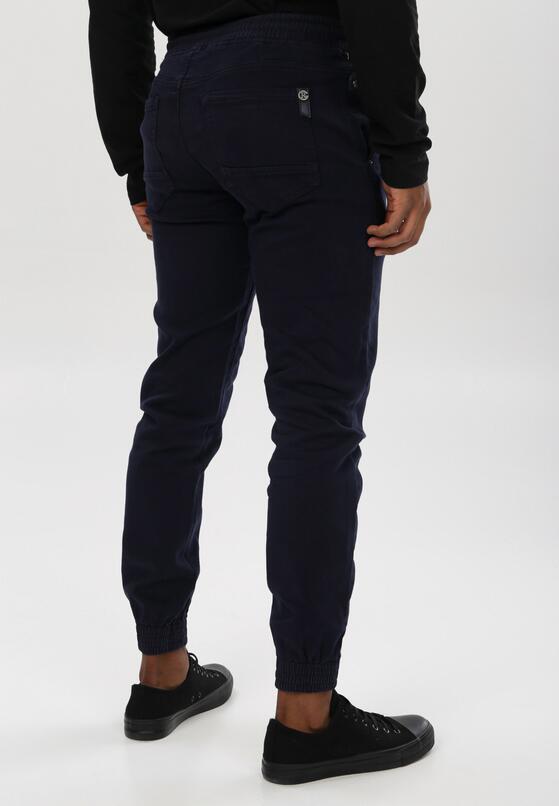 Granatowe Spodnie Joggery Parsleybutton