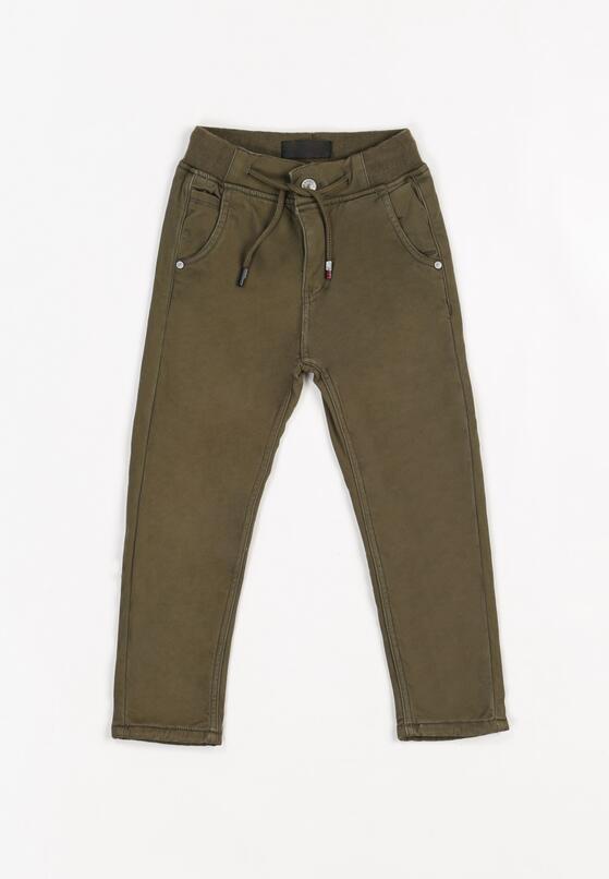 Ciemnozielone Spodnie Merlas