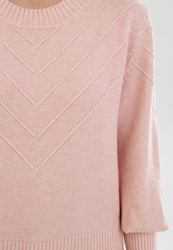 Jasnoróżowy Sweter Zaurg