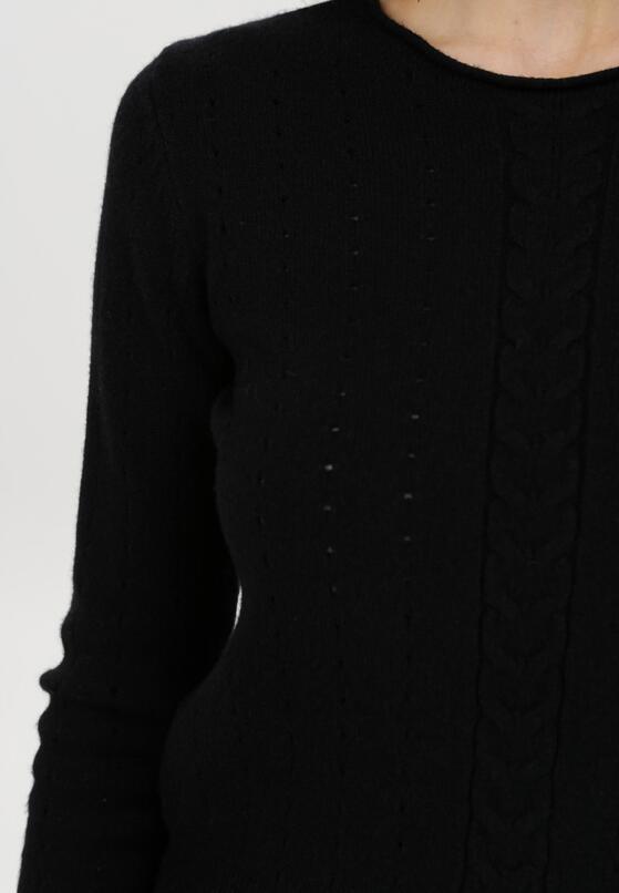 Czarny Sweter Rhouz