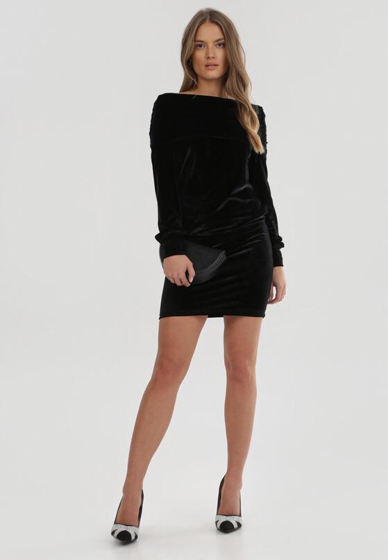 Czarna Sukienka Mormenor