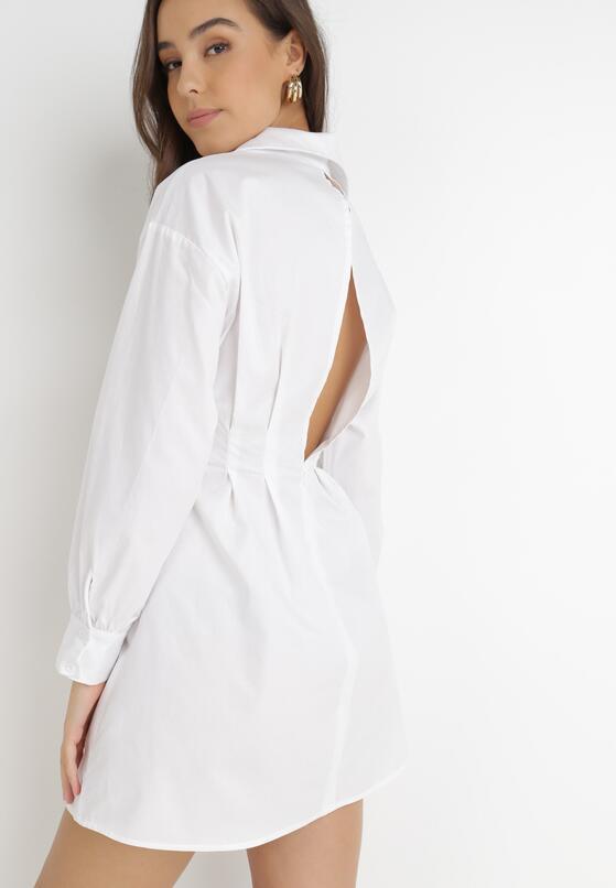 Biała Sukienka Thekrana
