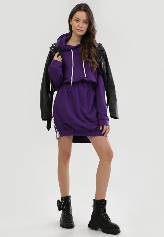 Fioletowa Sukienka Ularoris
