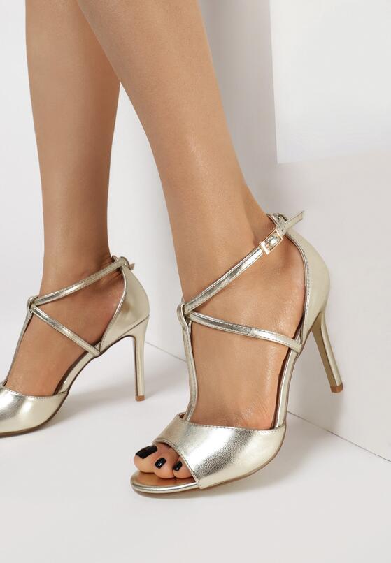 Złote Sandały Sparkletwirls