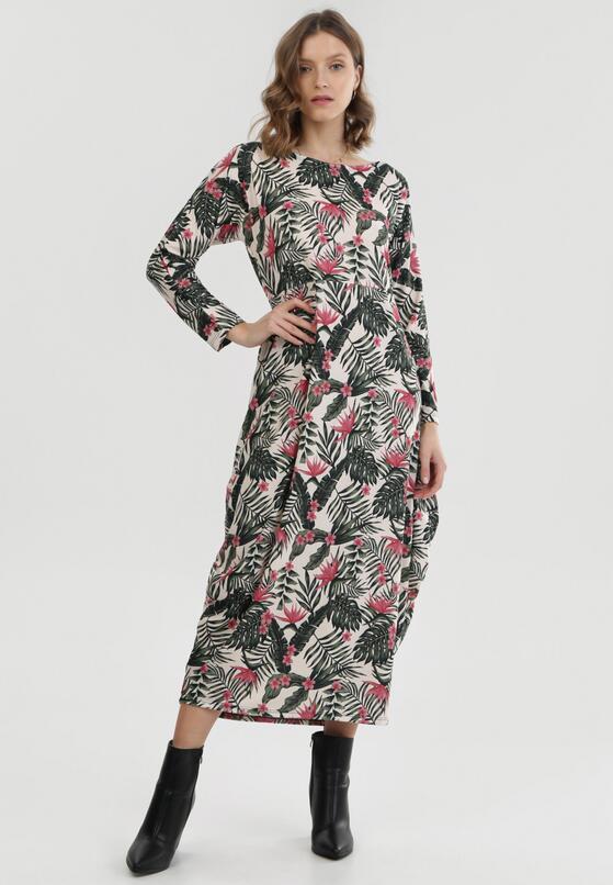 Kremowa Sukienka Sabridia