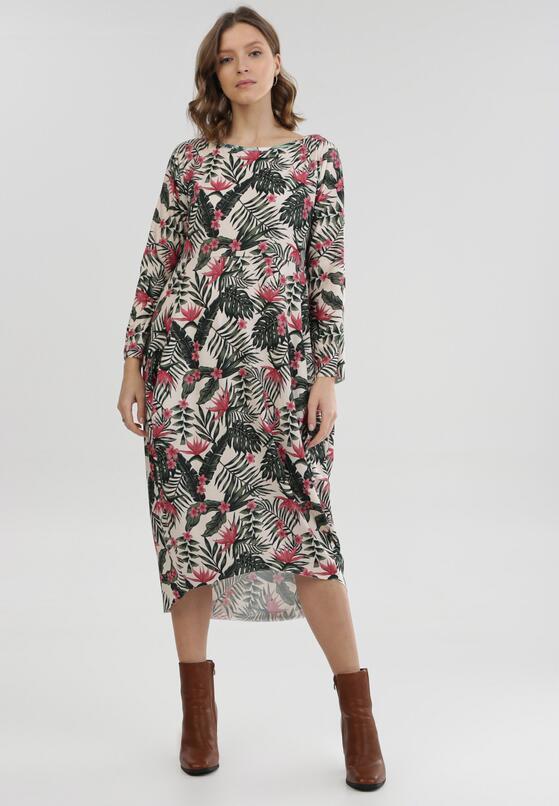 Kremowa Sukienka Nemenmisa
