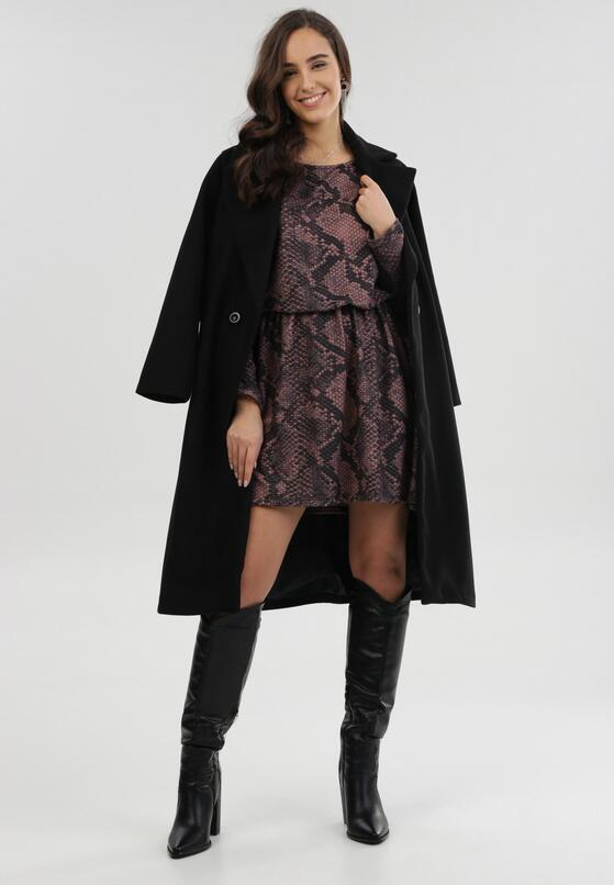 Ciemnobrązowa Sukienka Cheena