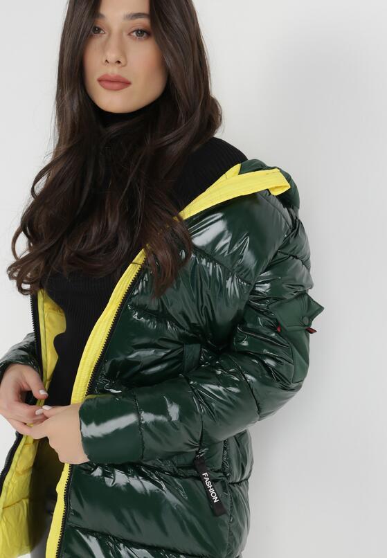 Zielono-Żółta Kurtka Jellycrystal