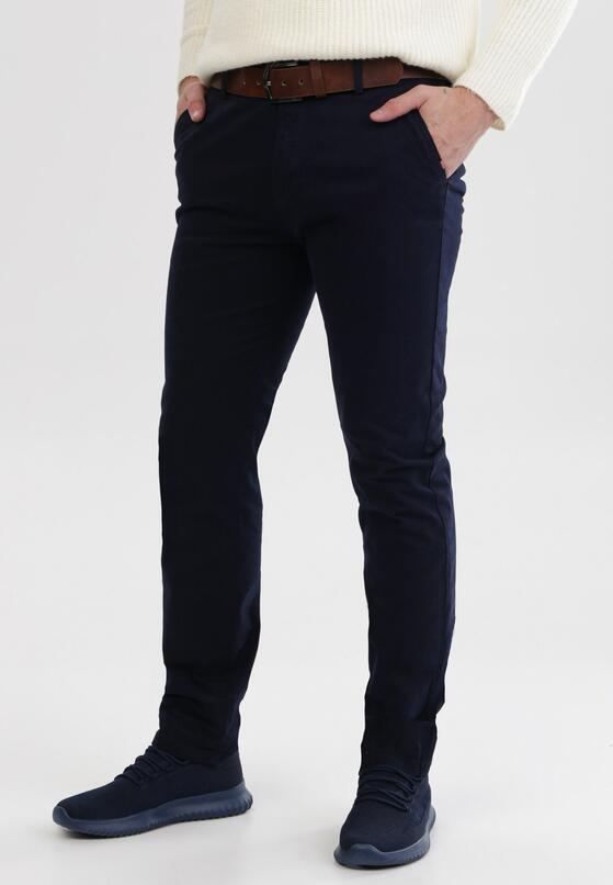 Granatowe Spodnie Iphamenis