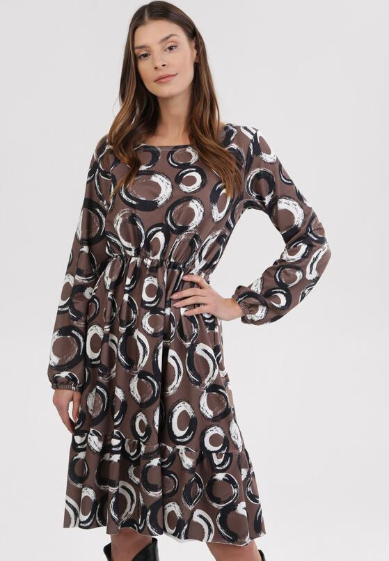 Ciemnozielona Sukienka Amalinei
