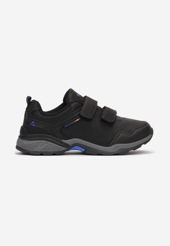 Czarno-Niebieskie Buty Sportowe Miralis