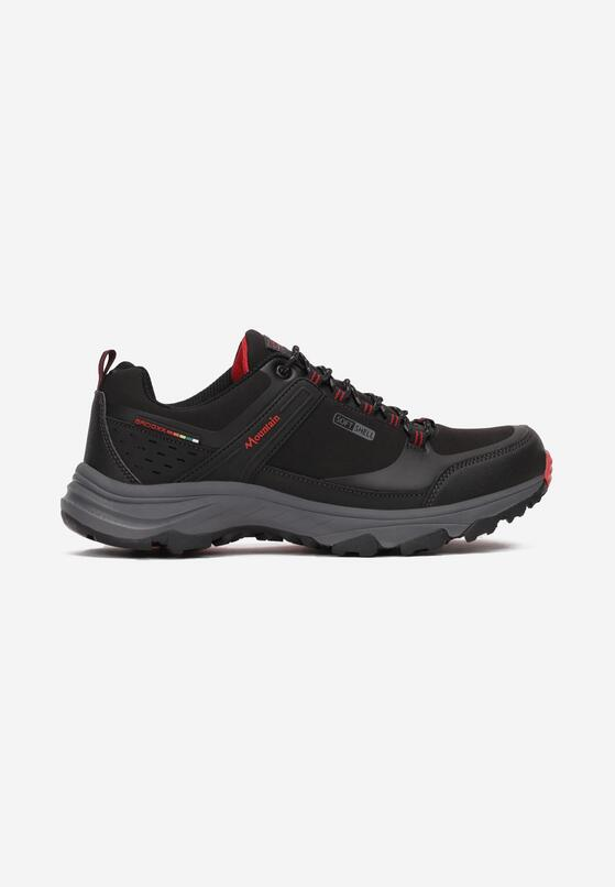 Czarno-Czerwone Buty Sportowe Salomene