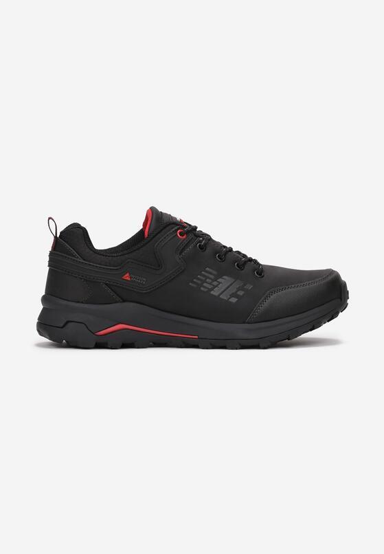 Czarno-Czerwone Buty Sportowe Memeni