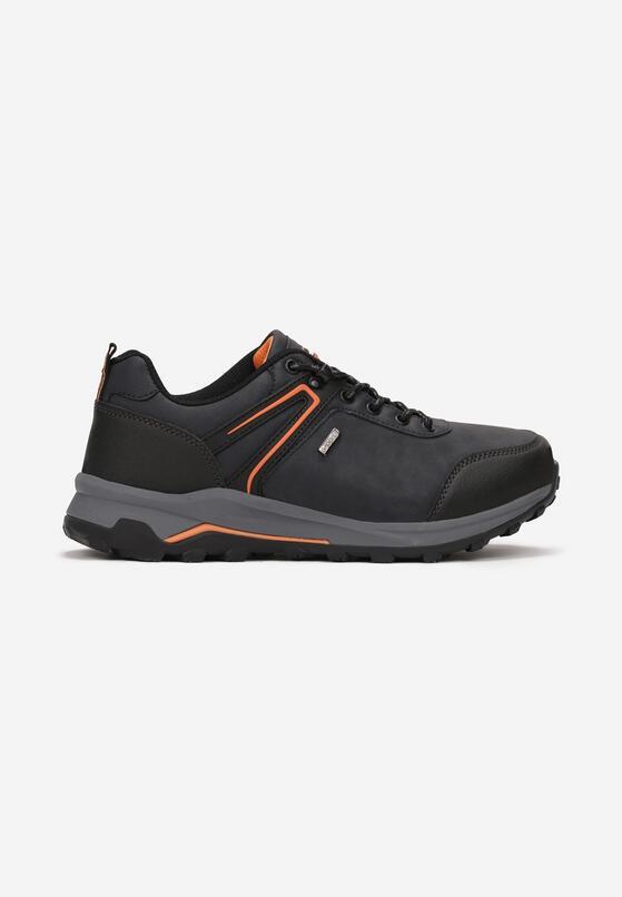 Granatowo-Pomarańczowe Buty Sportowe Wildspire