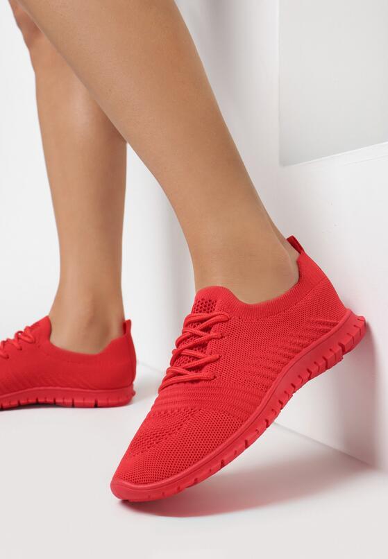Czerwone Buty Sportowe Eatherian