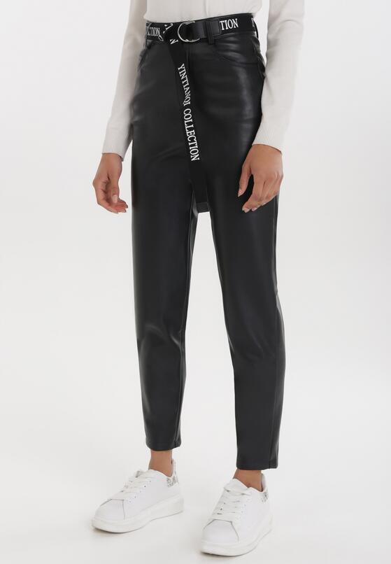 Czarne Spodnie Delmaroe
