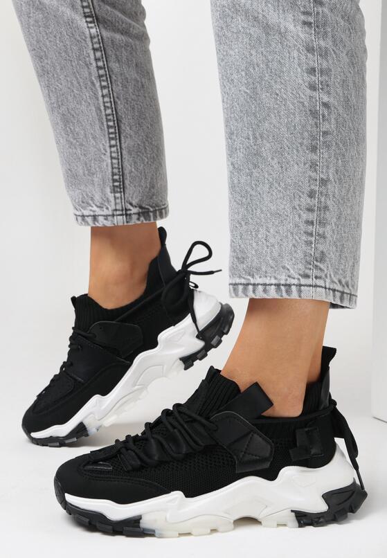 Czarne Sneakersy Vicandi