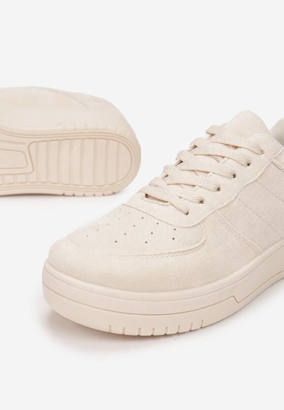 Beżowe Buty Sportowe Chanintha