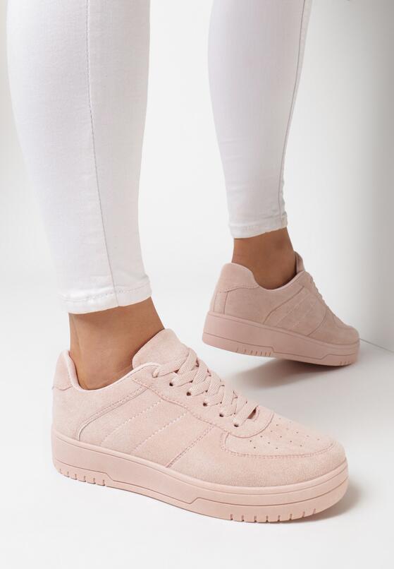 Różowe Buty Sportowe Chanintha