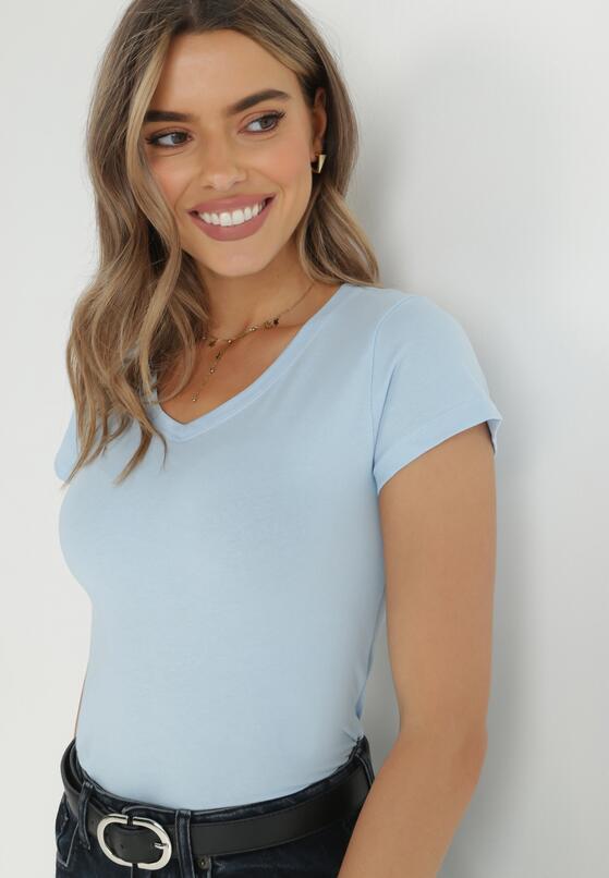 Jasnoniebieski T-shirt Aegalori