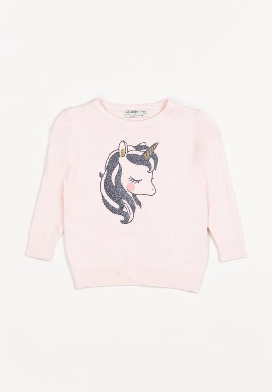 Jasnoróżowy Sweter Eshiress