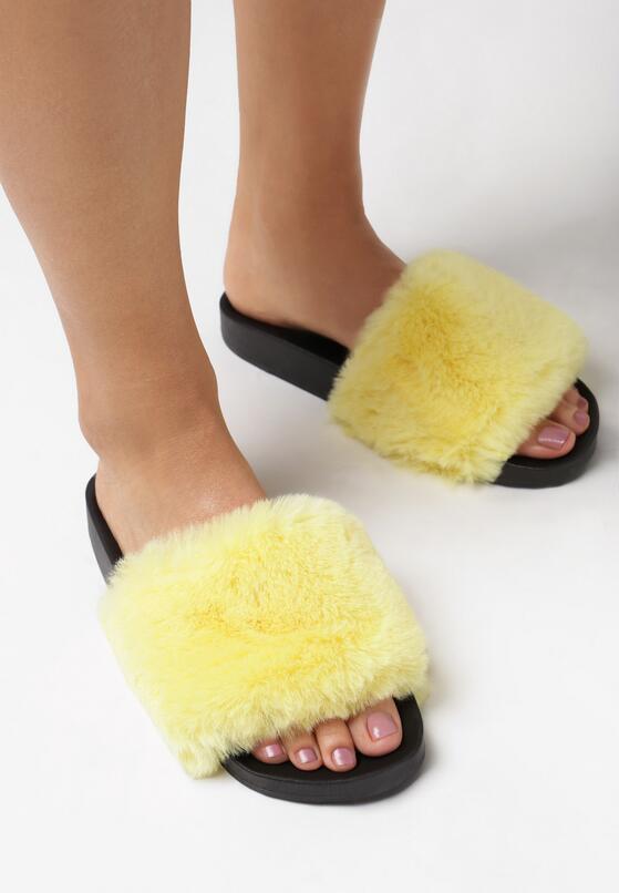 Żółte Klapki Challeri