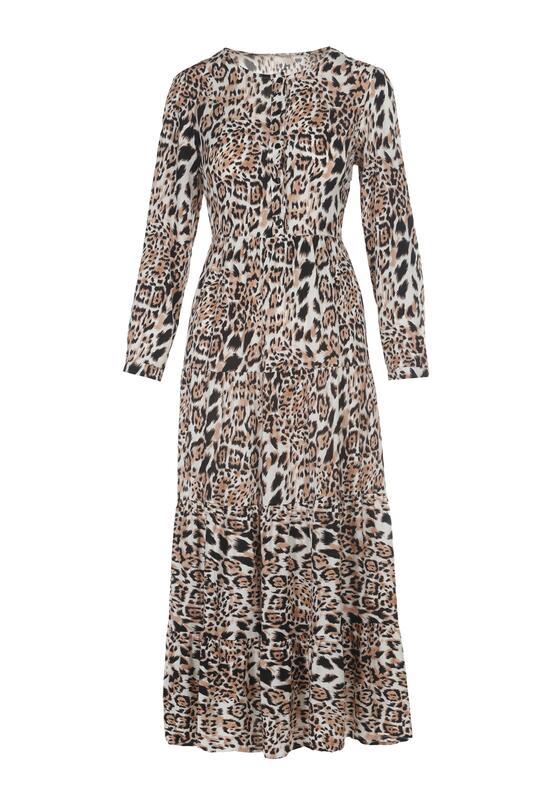 Panterkowa Sukienka Athiliusei