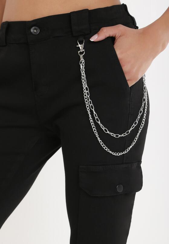 Czarne Spodnie Nephiophai