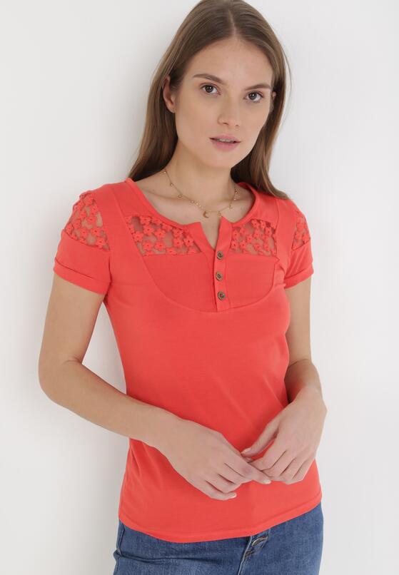 Czerwony T-shirt Selestosi