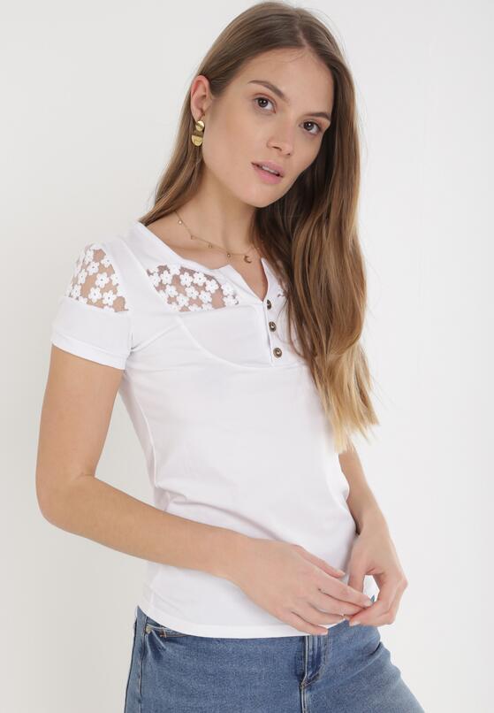 Biały T-shirt Selestosi