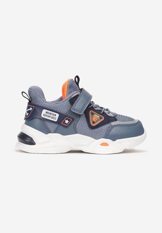 Niebieskie Buty Sportowe Lisaxaura