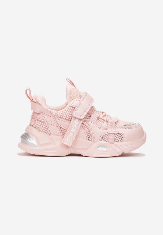 Różowe Buty Sportowe Castosise